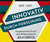 Gütesiegel: Innovativ durch Forschung