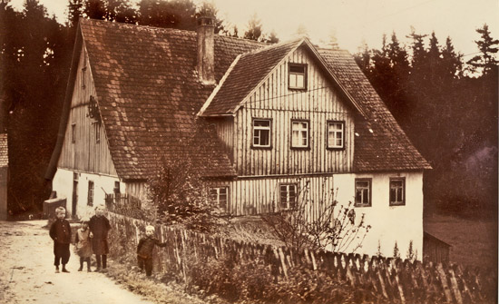 The Ludwigsmühle at the turn of the century.