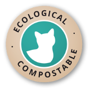 Ecological cat litter