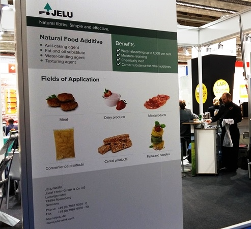 JELU-WERK presents its products at FI Europe