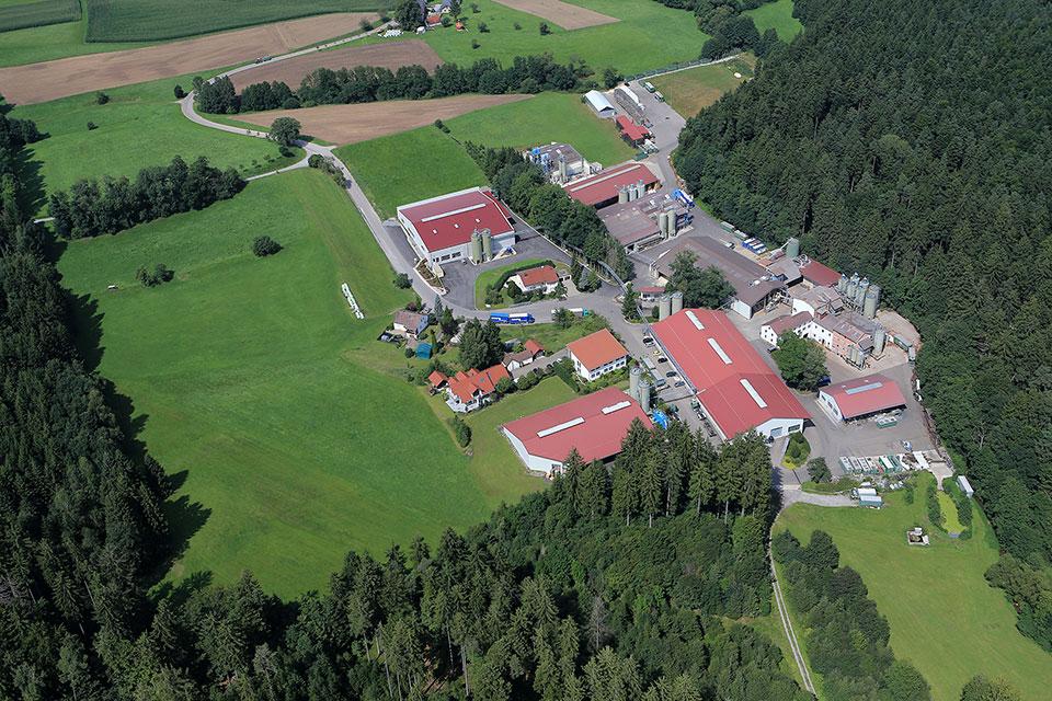 Aerial photo of JELU-WERK