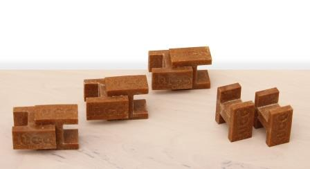 H-shaped LUCO BRICKS building blocks from JELUPLAST®