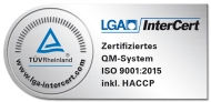 Logo LGA Intercert ISO9001