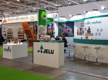 The JELU stand at Zoomark 2019