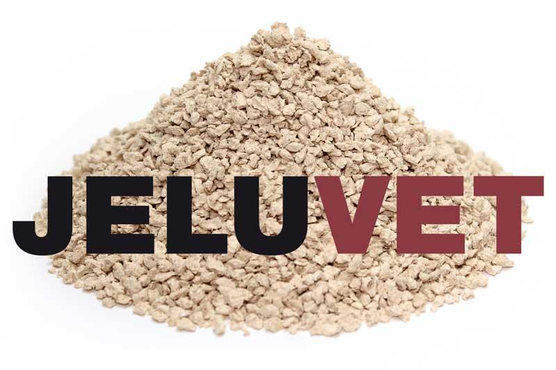 Lignocelluose fibres with JELUVET brand name